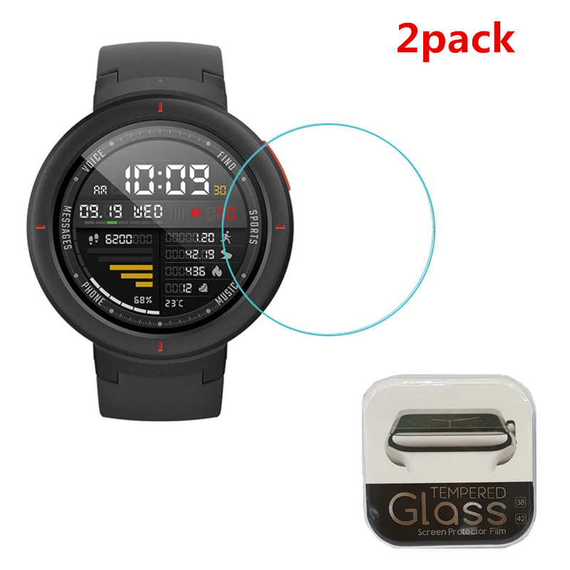 Guard Screen-Protector Protective-Film Tempered-Glass Amazfit Verge Xiaomi Anti-Shatter