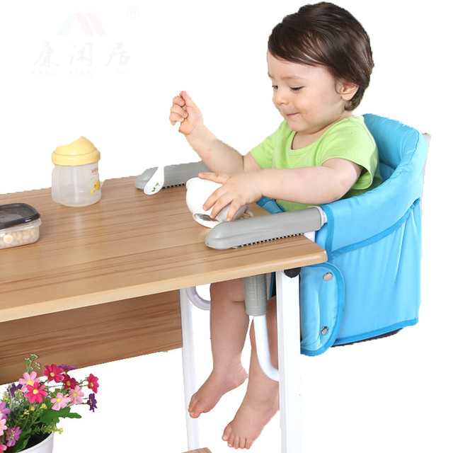 Hot selling children portable foldable baby dining chair multifunctional superlight dining chair
