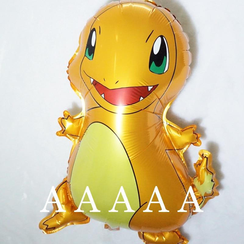 5Pcs/Lot New Pokemon Jenny Turtle foil birthday Balloon Children Toy Party Birth