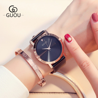 New Fashion Leather Women Watches 2017 Luxury Top Brand Simple Casual Quartz Watch Women Clock reloj mujer Relogio Feminino reloj mujer casual women watches luxury ladies watches ceramic quartz watch relogio feminino fashion hours women clock 2017 new