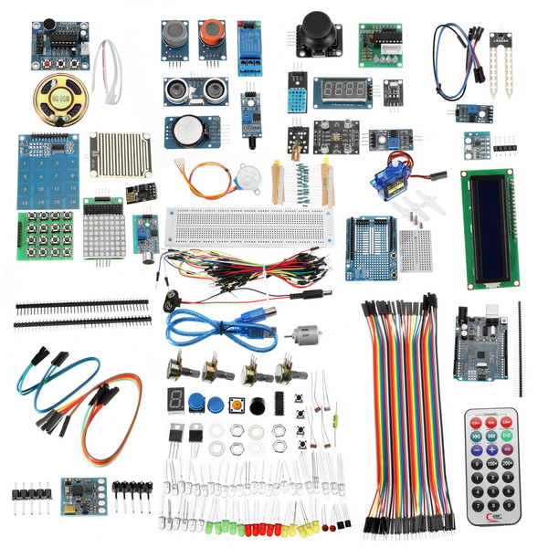 Nouveau Module de démarrage UNO R3 LCD capteur Wifi bluetooth Laser pour débutant pour Arduino