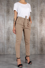 Harajuku Slim Pencil Trousers Women 2018 Spring Autumn Long Pants Khaki Green Black Casual Pants Belt Fashion Office Trousers