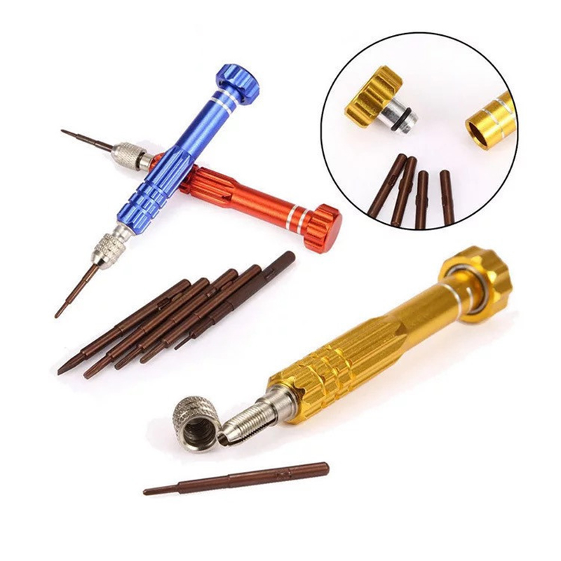 5-in-1 Screwdriver Mobile Phone Small Telecommunication Five-in-one Combination Tool