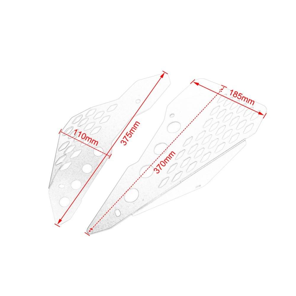 Для Ducati Scrambler боковая панель средняя рамка защитная пластина полная дроссельная заслонка Шестигранная пустыня сани алюминиевые аксессуары...