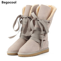 Begocool High Quality UG Snow Boots Women S Winter Boot Women Fashion Genuine Leather Australia Classic