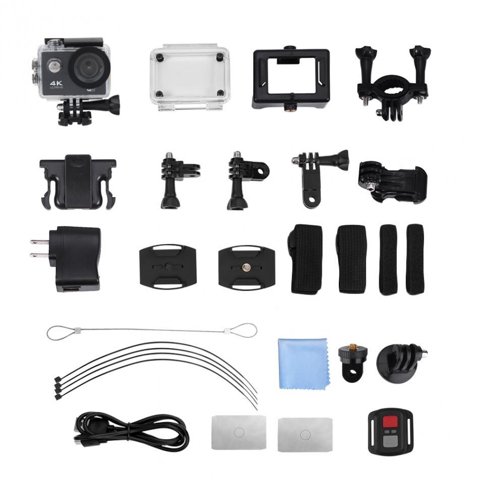 2 Zoll 4 Karat Hd Wifi Action Kamera 170 Grad Wasserdichte Outdoor Tauchen Sport Camcorder Wasserdichte Sport Kameras Fest In Der Struktur