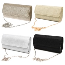 Women's Evening Shoulder Bag Bridal Clutch Party Prom Wedding Envelope Handbag