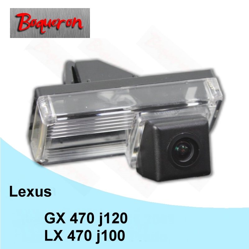 BOQUERON for Lexus LX 470 j100. GX 470 j120 HD CCD Night Vision Reverse Parking Backup Camera Car Rear View Camera NTSC PAL