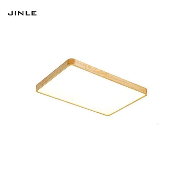 Comprar simple registro madera japonesa moderno Lámpara LED ZkwOPXiuT
