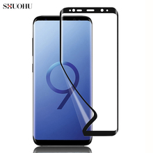 hot deal buy s7 s7 edge full cover screen film ultra thin clear guard pet screen protector for samsung galaxy s7 s7 edge (not tempered glass)