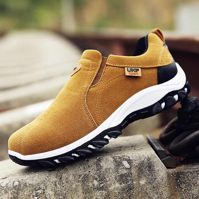 Men Running Shoes Outdoor Sneakers Lightweight Breathable Comfortable Men Shoes Handmade Shoes Trainers Sport Shoes Plus Size