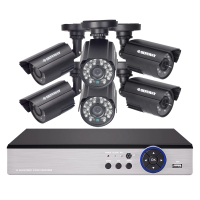 DEFEWAY Home Security Video Surveillance Kit 8CH CCTV System 1200 TVL 720P HDMI AHD CCTV DVR