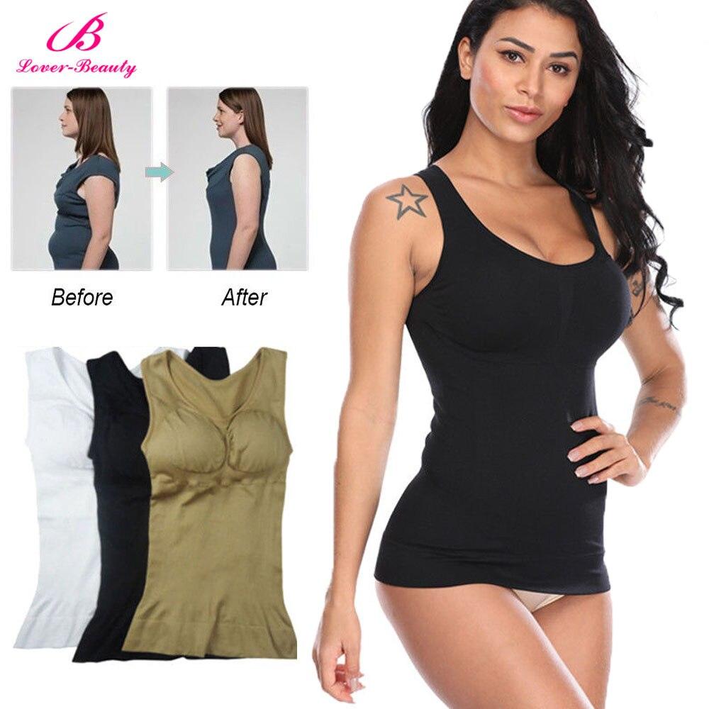 f103a3e7df5 ... Hot Shaper Slim Up Lift Plus Size Bra Cami Tank Top Women Body  Removable Underwear Slimming Vest Corset Shapewear A on Aliexpress.com