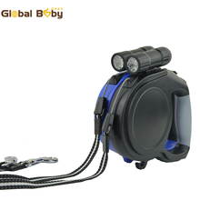 5M and 8M Brand Retractable Dog Leashes Lead with LED Light for Dogs and Pets