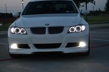 2x Graus 80 W Chips de Led CREE H8 Angel Eyes o Halo Anel DRL Fog Driving Luz Branca de Alta Potência Lâmpadas para BMW E90 E92 E93 X5