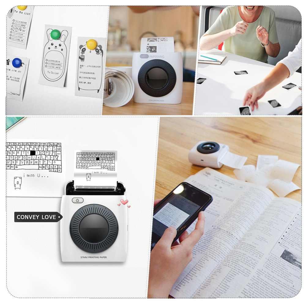 Dropship P2 impresora portátil Bluetooth 4,0 teléfono fototérmicas de la conexión inalámbrica del teléfono de foto de la impresora de la foto
