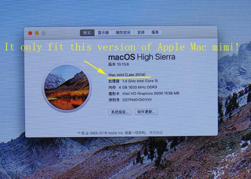 For Mac mini A1347