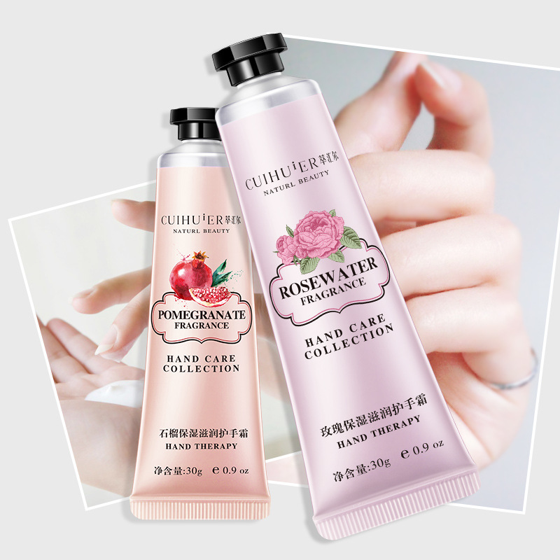 30g Winter Hand Cream Hand Lotions Nourishing Anti-Aging Hand Feet Care Cream Whitening Moisturizing Fragrance Drop Shipping