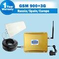 A LA VENTA! GSM 900 3G 2100 Señal Celular Repetidor 2G GSM 3G ALC UMTS de Doble Banda Celular Amplificador 900 mhz 2100 mhz 65dB Móvil Booster