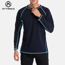 Мужская быстросохнущая рубашка attratico для дайвинга с защитой