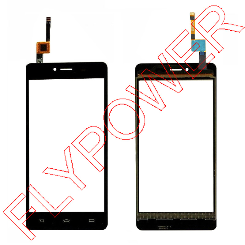For Philips S326 Touch Screen Digitizer Glass lens black by free shipping;100% warranty