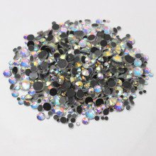 DMC Large Pack  SS6 - SS30 Jewelry Crystal AB Flatback Stones Strass Hotfix Rhinestones Wedding Dress Sewing Accessories