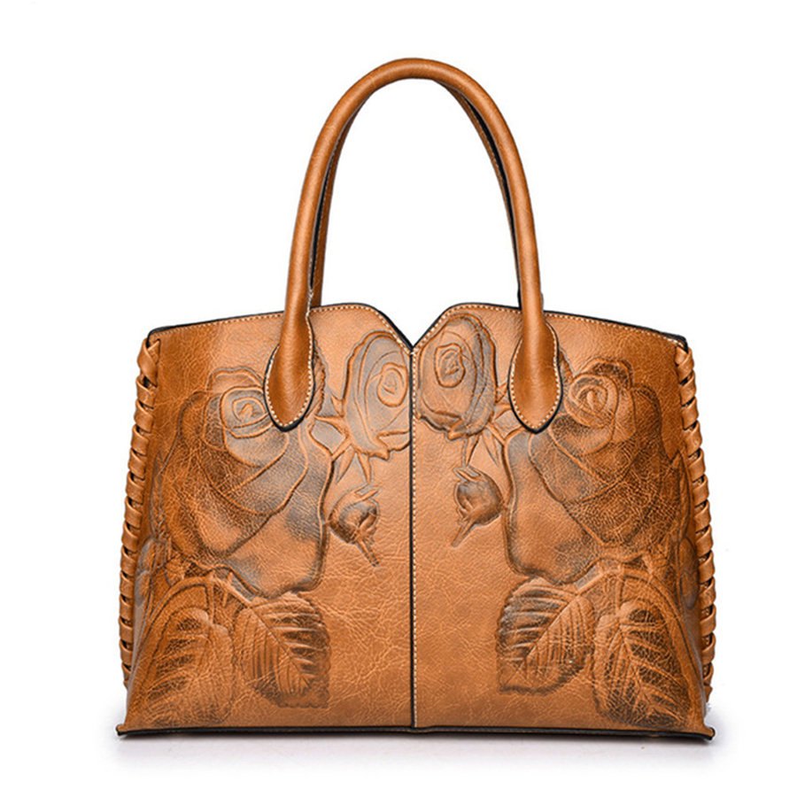 купить DUSUN Embroidery Floral Handbag Women Vintage Messenger Bags Ladies Brand Designer Shoulder Bag Female Luxury Bolsa Feminina Sac недорого