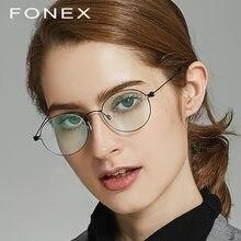 92dd8ddd8 B Mulheres Ultraleves Óculos de Prescrição Óculos de Titânio Puro Óculos de  Armação Homens Novos Coreano