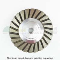 Diameter 100mm Grinding Wheel For Granite Concrete 4inch 120 Aluminum Based Diamond Grinding Cup Wheel Professional