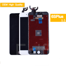 10Pcs/lot For iphone 6S Plus Full LCD Display Touch Screen Digitizer Panel Pantalla monitor LCD Assembly Complete With 3D Touch 10pcs lot dhl ems high quality for nokia lumia 925 lcd display touch screen digitizer sensor assembly complete panel with frame