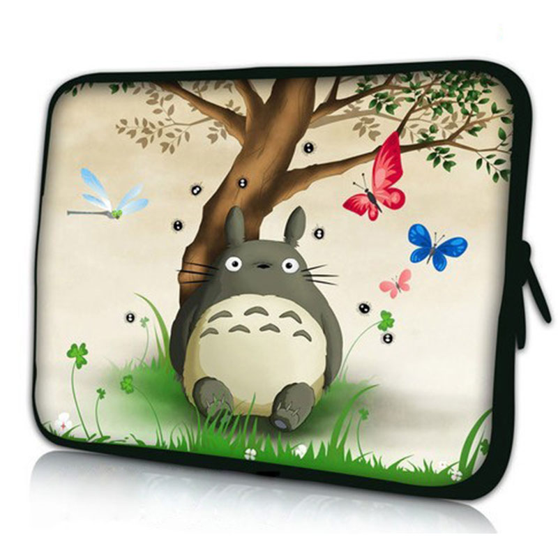 Totoro Laptop Sleeve Case Notebook Bag Smart Cover For ipad MacBook 7 10 12 13.3 14.4 15.4 17 Laptop Bag
