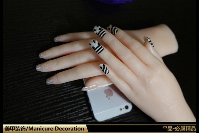 Манекен рука для маникюра