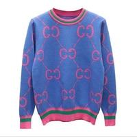 DHIHKK 2018 новый бренд с круглым вырезом теплые свитера, пуловеры для женщин осень зима трикотажные джемперы Женский пуловер Модные топы