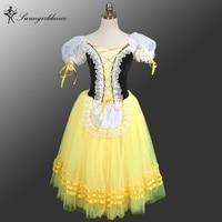 Girls Yellow Romantic Ballet Tutu Dress Giselle Ballet Tutu Dress Tutu Dress For Women Ballerina Dress