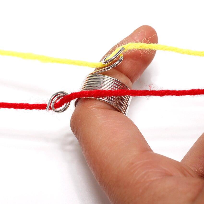 Prym Knitting Thimble Norwegian Metal  up to 2 Yarn Guides