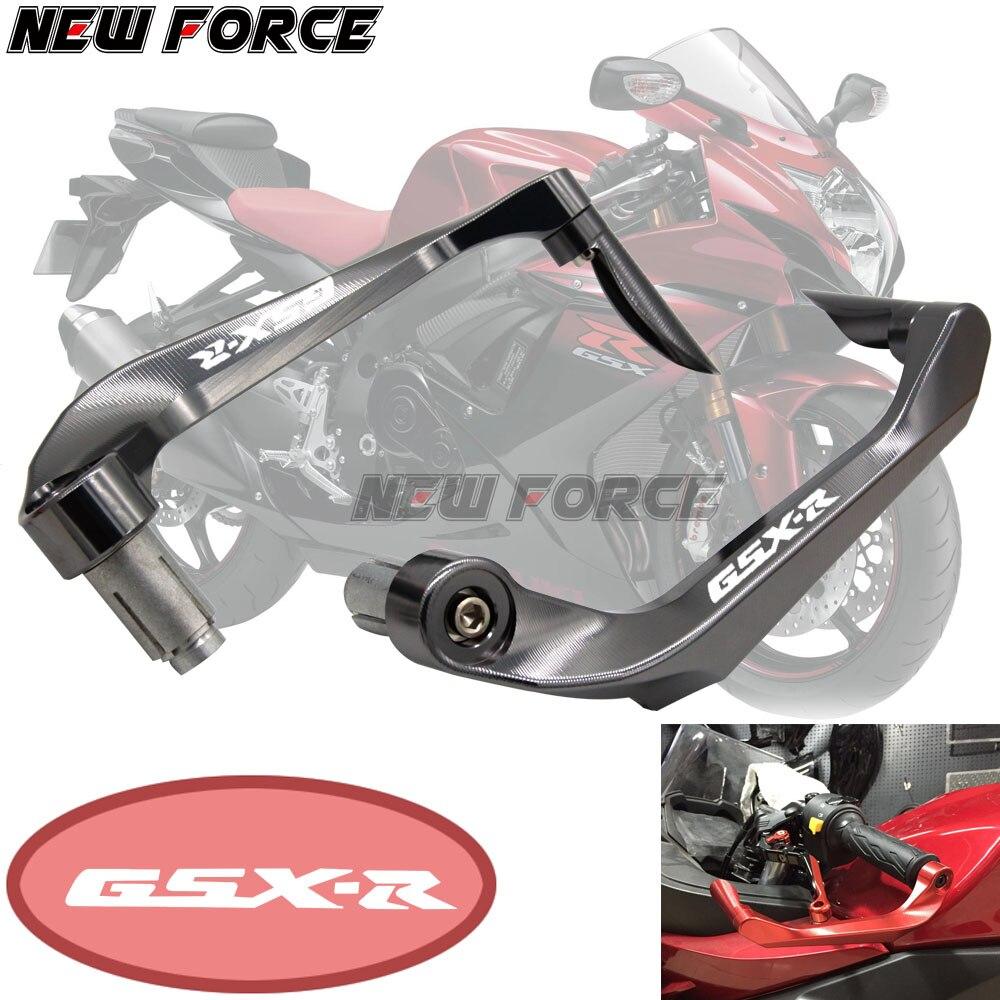Universal 7/8 22mm Motorcycle Handlebar Brake Clutch Levers Protector GuardFor SUZUKI GSX R 600 750 1000 K4 K5 K6 K7 K8 K9