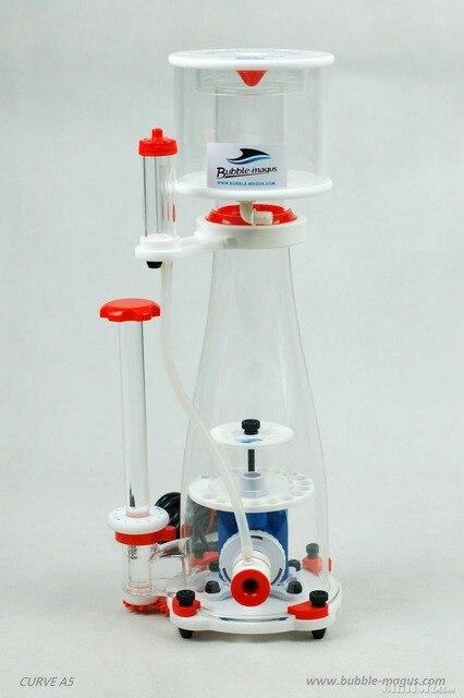 Burbuja de Magus curva A5 300-500L acuario interior Skimmer de proteínas de bomba de sumidero de agua salada Marina arrecife aguja de bomba Venturi
