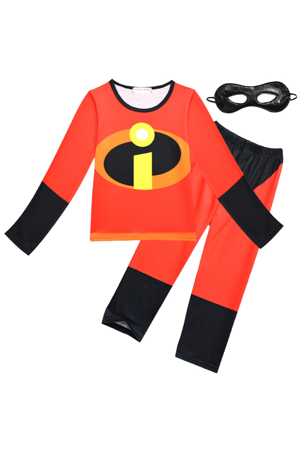 The Incredibles 2 Toddler Cosplay Costume Dress Up The Incredibles Pajamas Sleepwear Cute Homewear for Kids Children