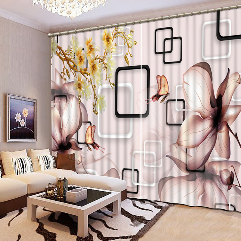 High Quality 3D Printing Curtains Chinese Luxury 3D Window Curtainsblackout drape Bedroom Living Room Printing Curtains  CL-D039High Quality 3D Printing Curtains Chinese Luxury 3D Window Curtainsblackout drape Bedroom Living Room Printing Curtains  CL-D039
