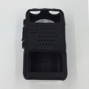 Silicone Rubber BAOFENG UV-5R Case Cover For Two Way Radio Baofeng UV 5R bumper UV-5RE plus Walkie Talkie Parts uv5r Accessories