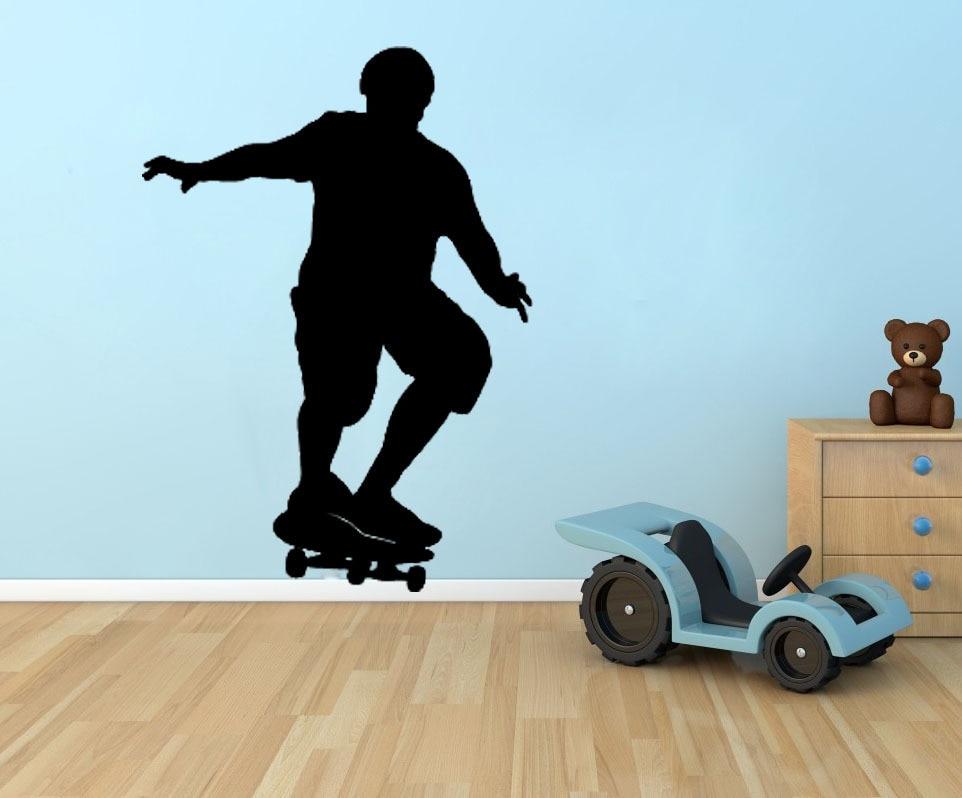 Buy Skateboard Wall Decals Vinyl Stickers