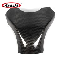 Arashi For KAWASAKI ZX 10R 2008 2009 2010 ZX10R ZX 10R Carbon Fiber Tank Cover Gas Protector Motorcycle Parts Shield