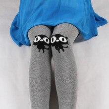 цены на Women Winter Warm 100% Cotton Tights Embroidery Cute Cats 9 Colors Stockings New Fashion Fitness Leggins Cheap Wholesale  в интернет-магазинах