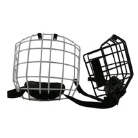 2017 GYSPORTS Anti Scratch Ice Hockey Helmet Cage Face Shield Install With Accessories Hardware Steel Mask