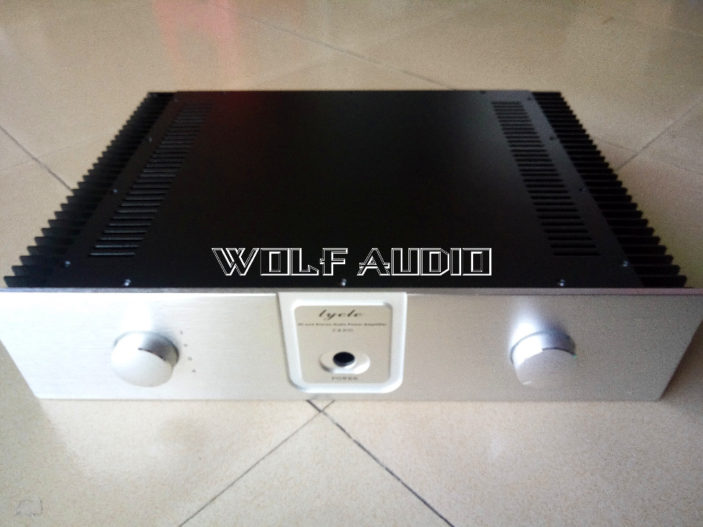 Q33 Class A Chassis Audio Amplifier Case Enclosure Preamp Case Cabinet DAC Box For DIY