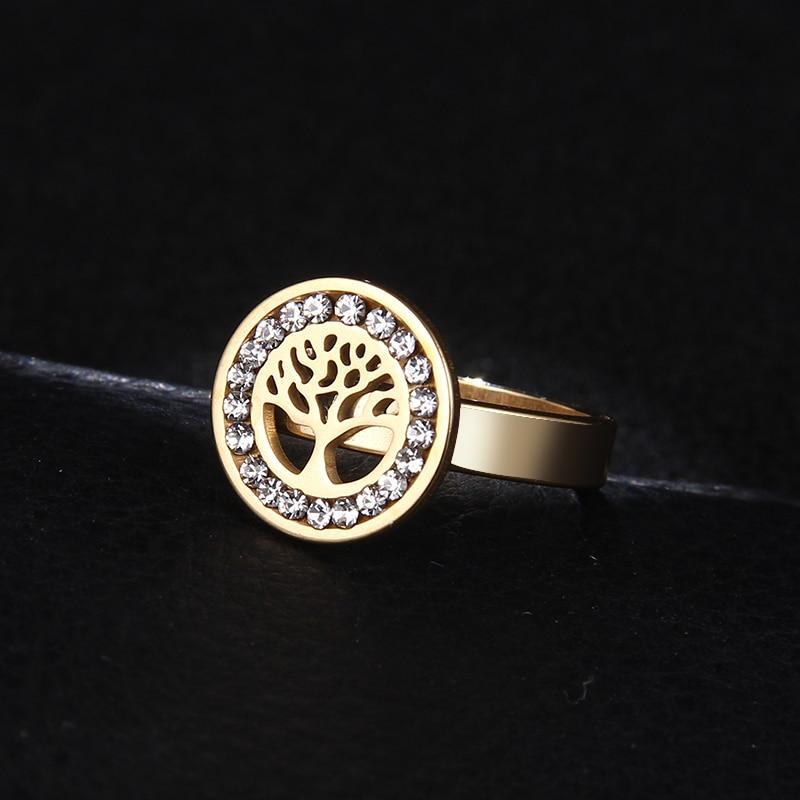 Женское кольцо из нержавеющей стали DOTIFI, кольцо из нержавеющей стали 316 с цирконием