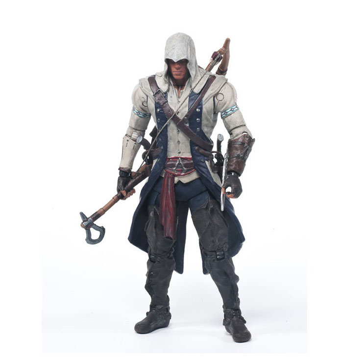 6inch 2017 New Assassin's Creed 4 Black Flag Connor Haytham Kenway Edward Kenway action figure toys cosplay Accessories Oyuncak hot sales assassins creed 4 assassins creed hidden blade brinquedos edward kenway juguetes pvc cosplay action figure kids toys