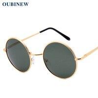 0bdde80544b OUBINEW Men s Polarized sunglasses Fashion sunglasses Uv protection Round  glasses The driver glasses High definition sunglasses