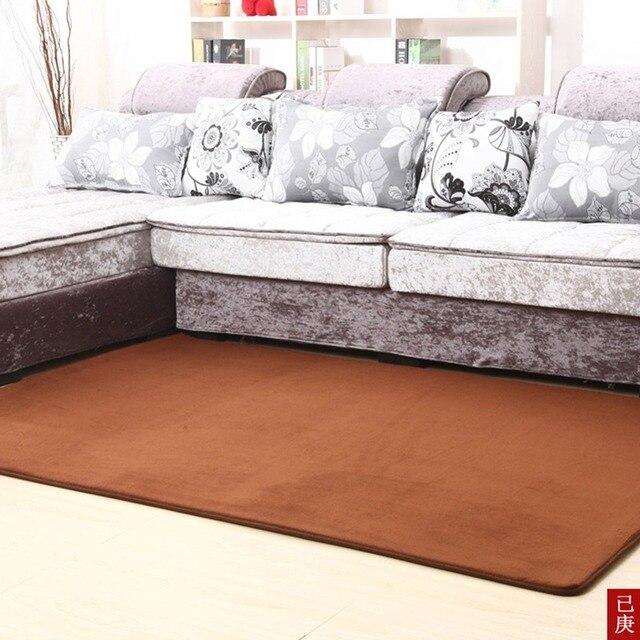 Fashion Modern Soft C Velvet Non Slip Easy Clean Area Rugs Floor Carpet Mats