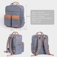 Diaper Bag Backpack for Mom Large Capacity Baby Care Nappy Maternity Bags Kit 2018 Mommy Travel Nursing Bag for Stroller